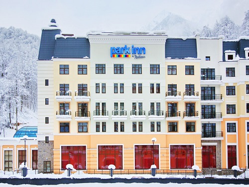 Отель Park Inn by Radisson Rosa Khutor 4*