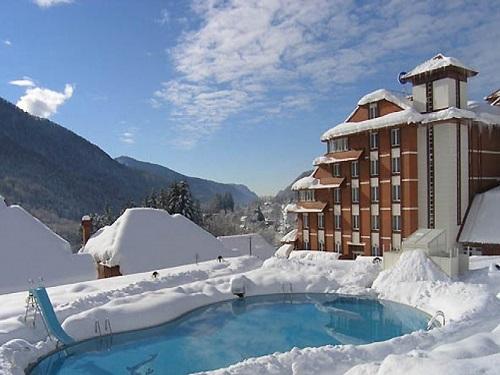 Гонолыжный отдых отели гостиницы зима картинки